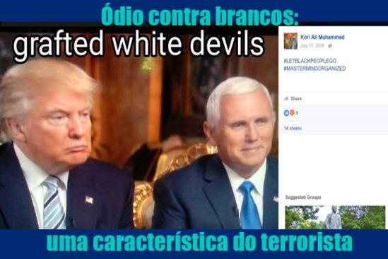 Ódio contra brancos